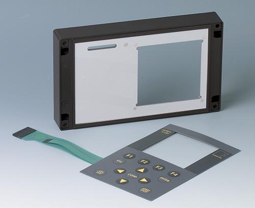 clavier à membrane pour détecteur de métal portatif