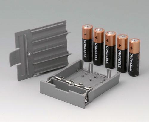 A9178158 Compartiment piles, M/L, 5 x AA