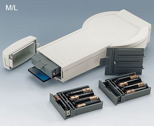 DATEC-CONTROL M/L avec compartiment piles amovible 5xAA