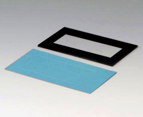 A9174009 Plaque M, bord noir