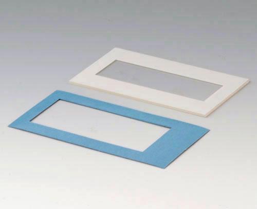 A9174307 Plaque M, bord gris blanc