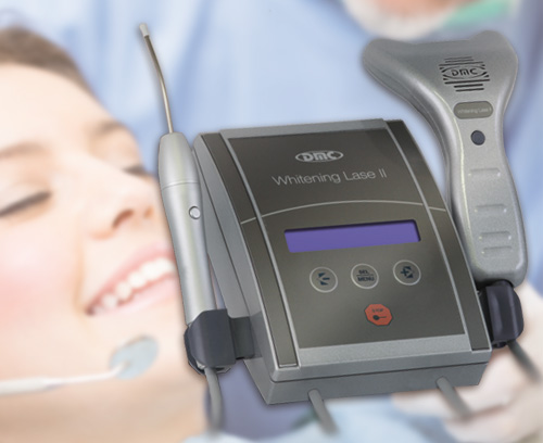 Dental Whitening and laser therapy