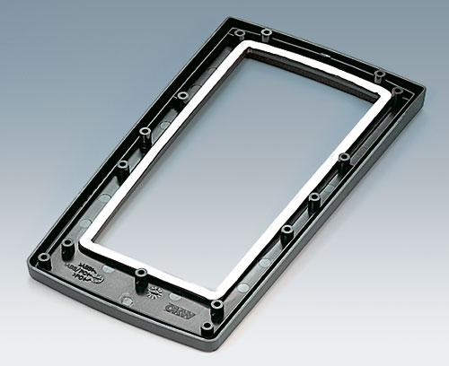Partie supérieure permet l'utilisation d'une plaque avant avec joint