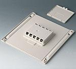 B4146047 Compartiment piles et couvercle L, 5 x AA