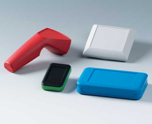 Boitiers aux couleurs de votre société ou avec des couleurs qui reflètent l'application du produit