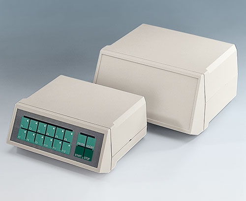 Zone de commande en creux pour protéger le clavier à membrane