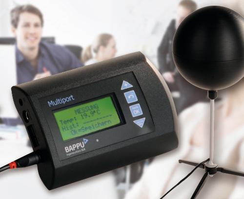 Multiport avec enregistreur de données intégré