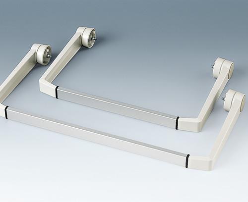 profilé en aluminium comme accessoire séparé sur demande (partie latérale A9300014)