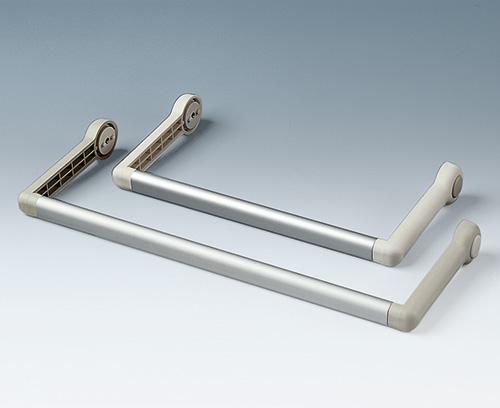 profilé en aluminium comme accessoire séparé sur demande (partie latérale A9300016 et A9300018)