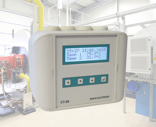 Régulateur de température universel, Rinck Electronics
