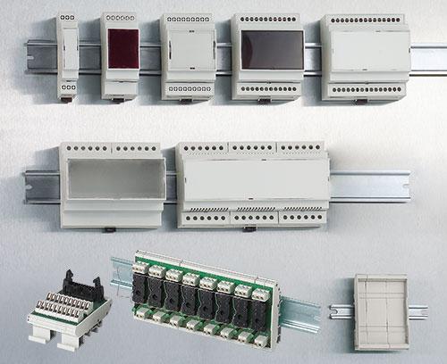 RAILTEC C boitiers pour barrettes DIN