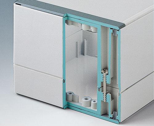 Coquilles du boitier, peut être utilisée comme base ou partie supérieure