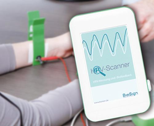 Scanner HRV pour l'analyse du système nerveux autonome