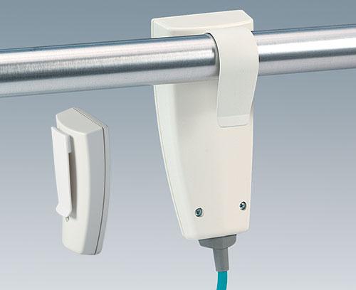 Clip de fixation pour tubes ronds et clip de poche (accessoires)
