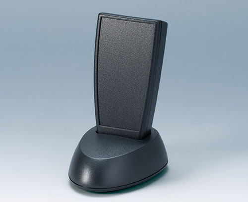 Socles pour les boitiers posés sur la table ; contacts en accessoires