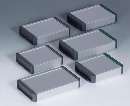 3 boitiers de base, chacun en 2 couleurs - profilés de longueur spéciale sur demande