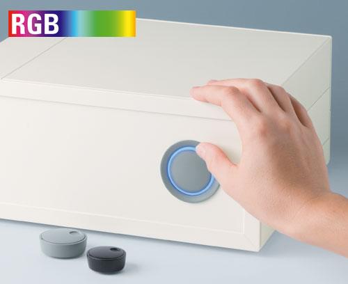 Des boutons de commande modernes illuminables