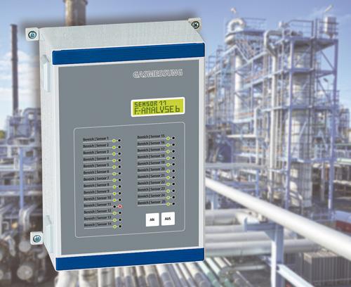 Système fixe de détection de gaz