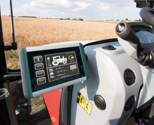 Terminal ISOBUS pour tracteurs et machines automotrices