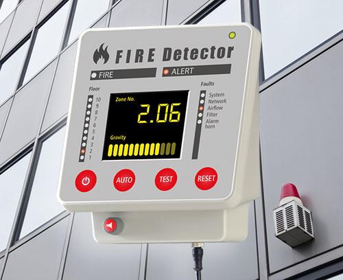 Terminal pour systèmes d'alarme incendie