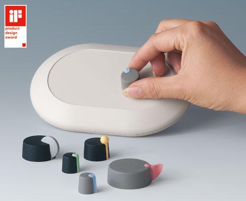 Des boutons de commande design inédits avec iF design award