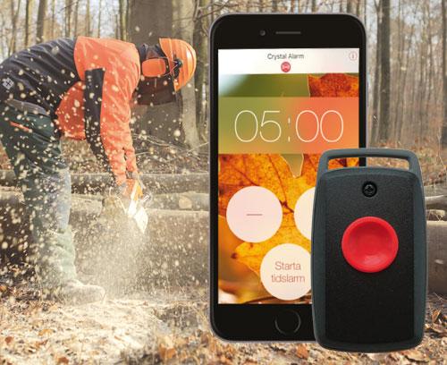 Une alarme personnelle sur votre Smartphone