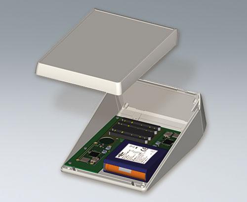 Circuit imprimé avec batterie rechargeable