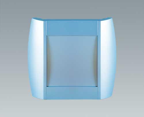 boitier Diatec verni en bleu