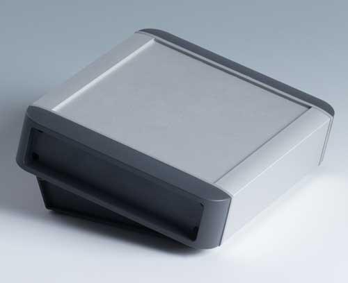 Contenitore in profilato di alluminio