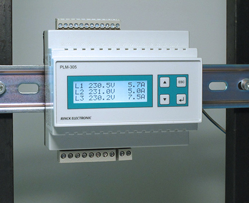 Power measuring device for energy analysis, Rinck Electronics