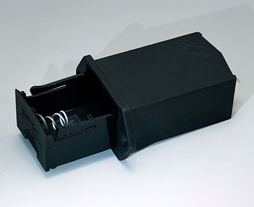 A9302510 Battery holder, 1 x 9 V (PP3)