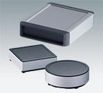 Gabinetes de perfil em alumínio