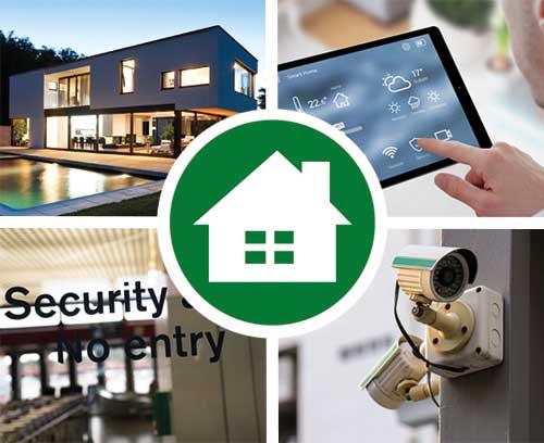 Segurança / Sistemas de gerenciamento residencial