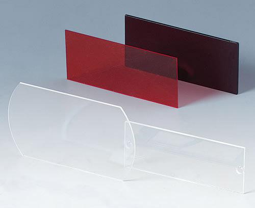 Стандартный ряд изготовленных под задачи клиента дисплейных стёкол