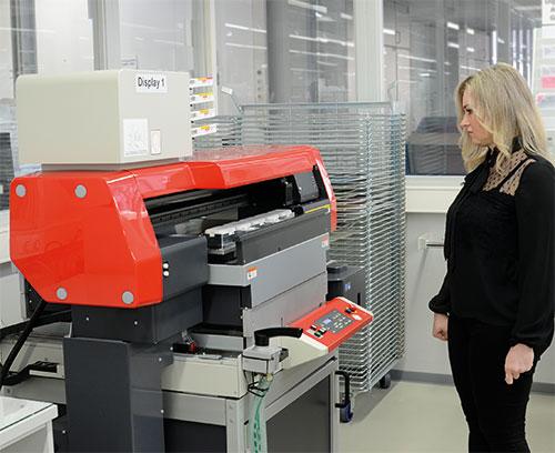 Цифровая печать в OKW