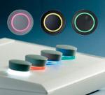 tuning knobs with LED illumination