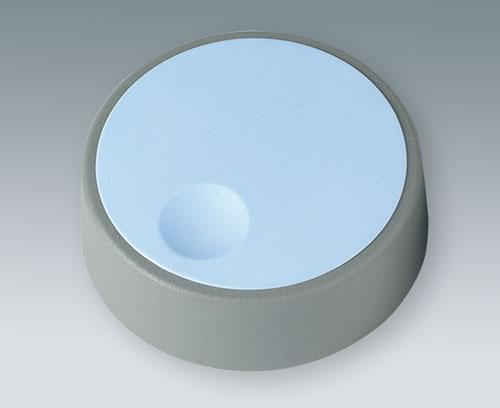 COM-KNOB с углублением для пальца на крышке