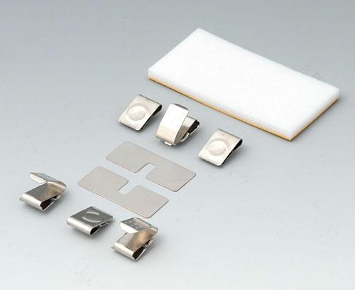 A9176008 Набор батарейных контактов, 3 x AA