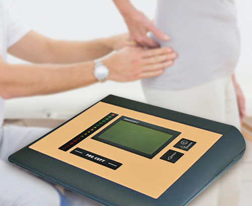 EMG bio-feedback for incontinence diagnostics and therapy