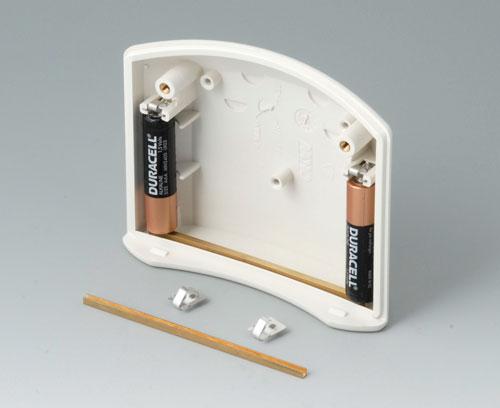 B7100002 Набор батарейных контактов, 2 x AAA