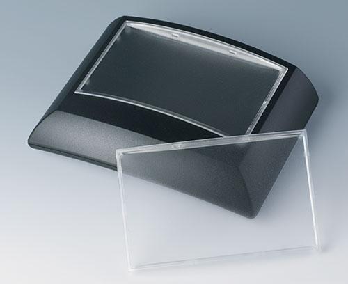 Размер L с прозрачной дисплейной панелью (также может быть в цвет корпуса)