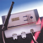 Humidity and temperature measuring unit