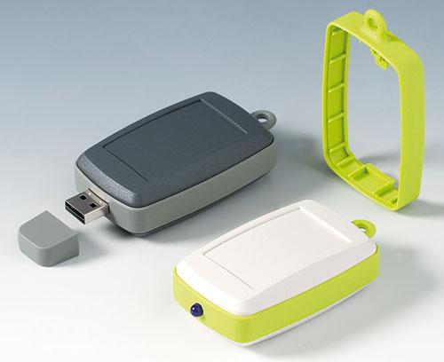 MINITEC EM с высоким промежуточным кольцом, например с вырезом под разъём USB типа А