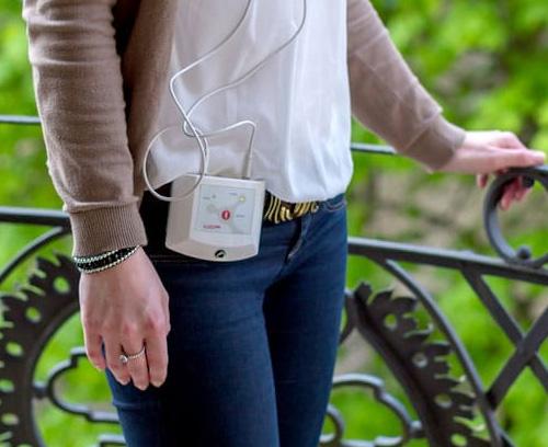 Mobile system for treating inner ear ailments