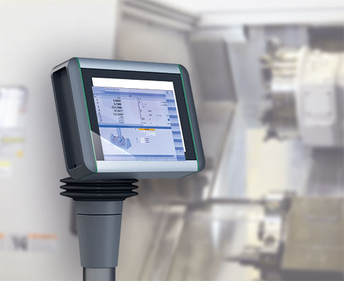Multi-touch panel for machine control