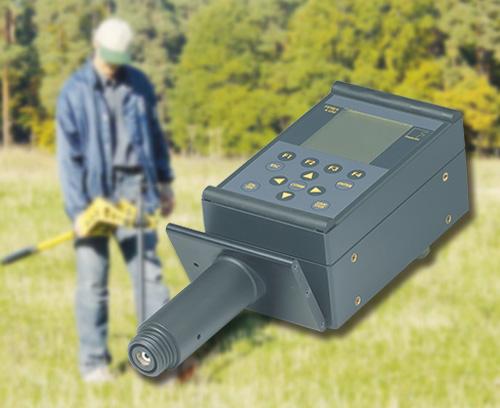 Portable metal detector
