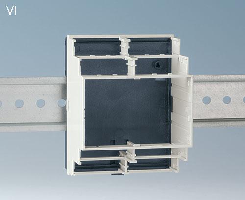 Вариант VI: открытый корпус для установки крышек области соединений