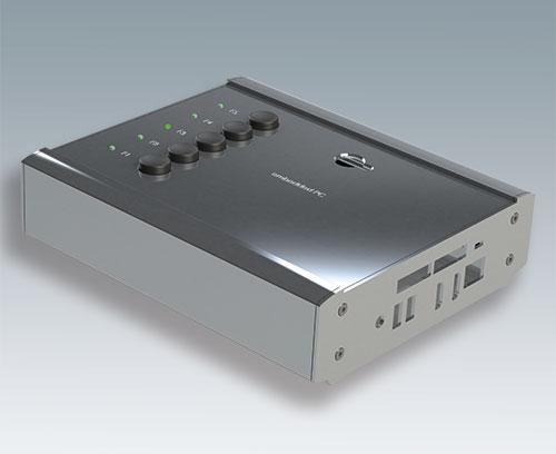 Алюминиевые торцевые панели (при заказе корпуса SMART-TERMINAL по отдельным составляющим)