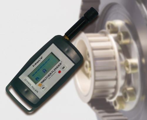Tension meter for measuring belt pretension