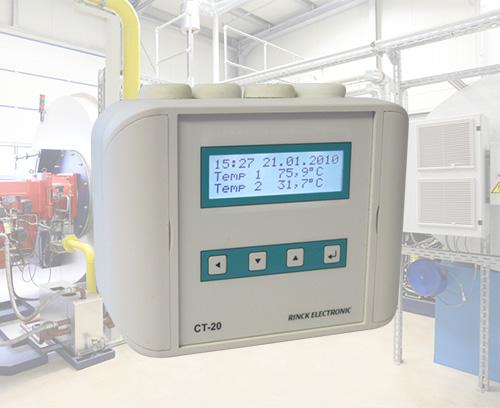 Universal temperature controller, Rinck Electronics
